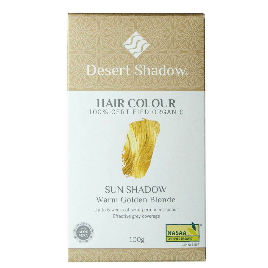 Desert Shadow Organic Hair Dye - Sun Shadow (100 g)