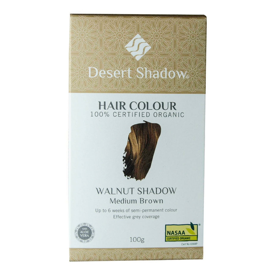 Desert Shadow Organic Hair Dye - Walnut Shadow (100 g)