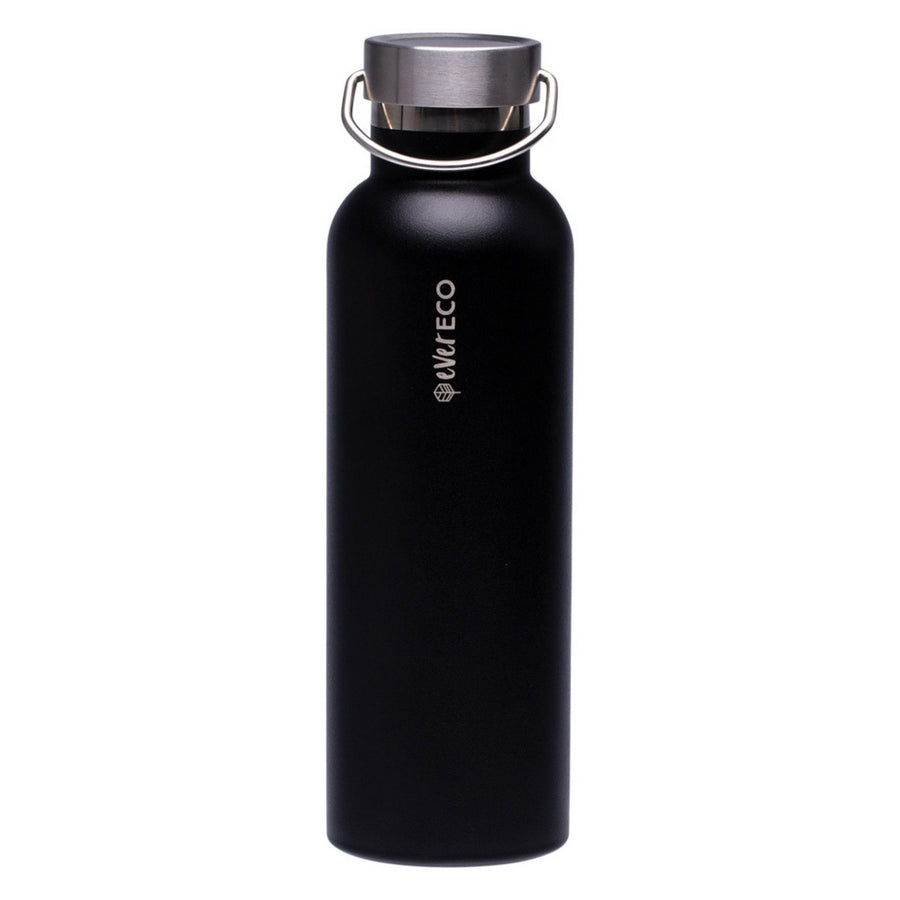 Ever Eco - Insulated Drink Bottle - Black (750ml)