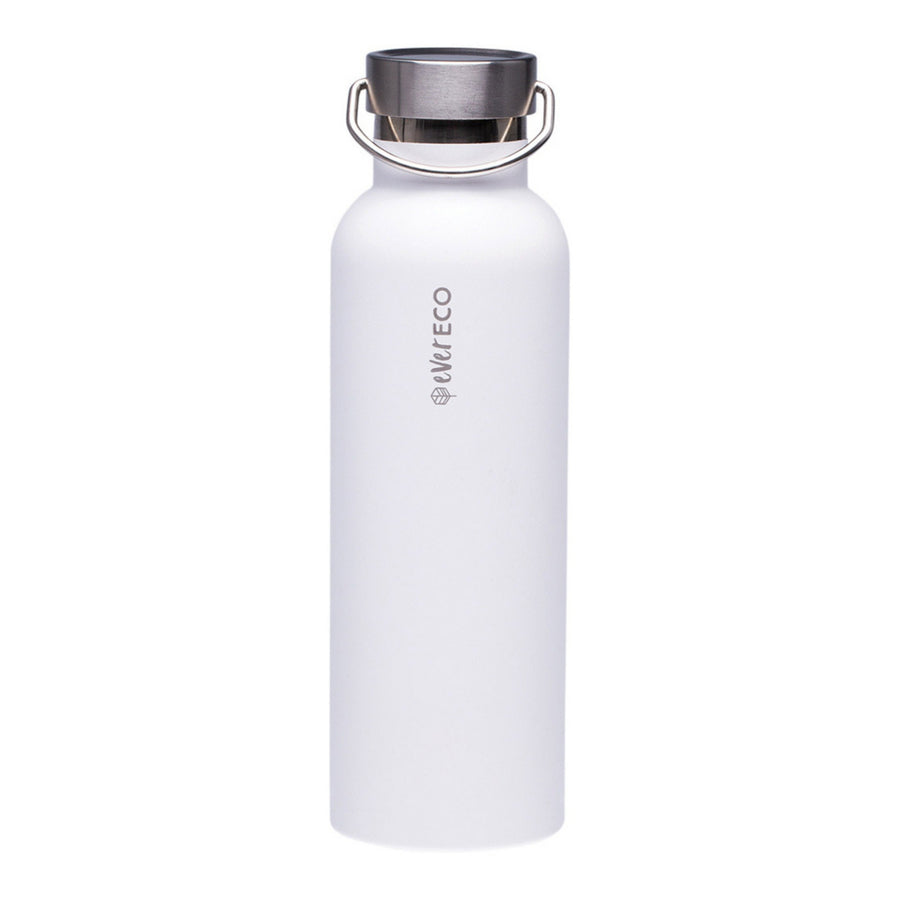 Ever Eco - Insulated Drink Bottle - White (750ml)