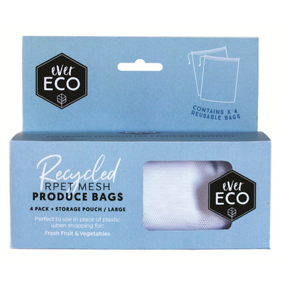 Go-For-Zero-Australia-Ever-Eco-Reusable-Produce-Bags-RPET-Mesh-4-Pack-Storage-Pouch
