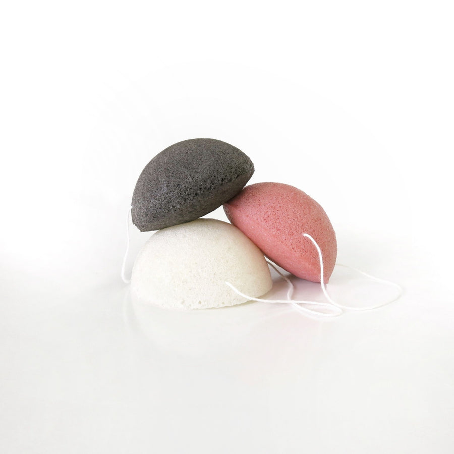 Go For Zero - Round Konjac Sponge (Red Clay)