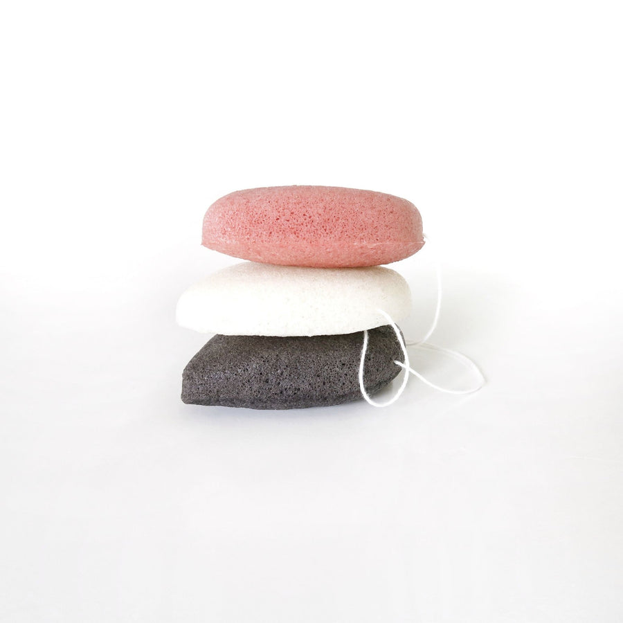 Go For Zero - Teardrop Konjac Sponge (Bamboo Charcoal)