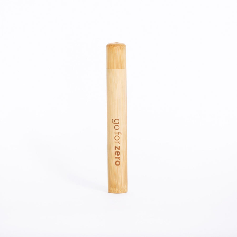 Go for Zero - Bamboo Toothbrush Travel Holder (Adult)