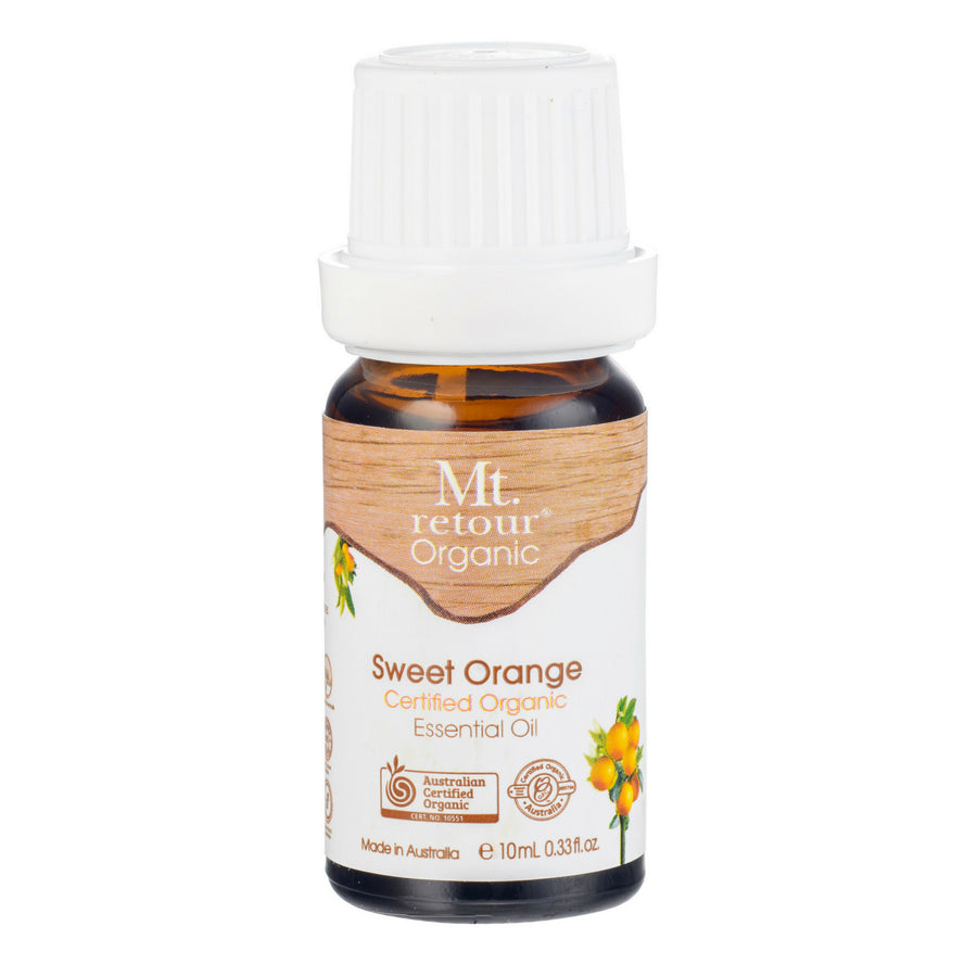 Mt.Retour - Sweet Orange Certified Organic Essential Oil (10 ml)