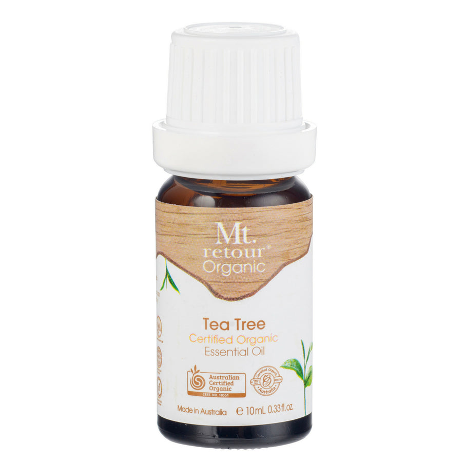Mt.Retour - Tea Tree Certified Organic Essential Oil (10 ml)