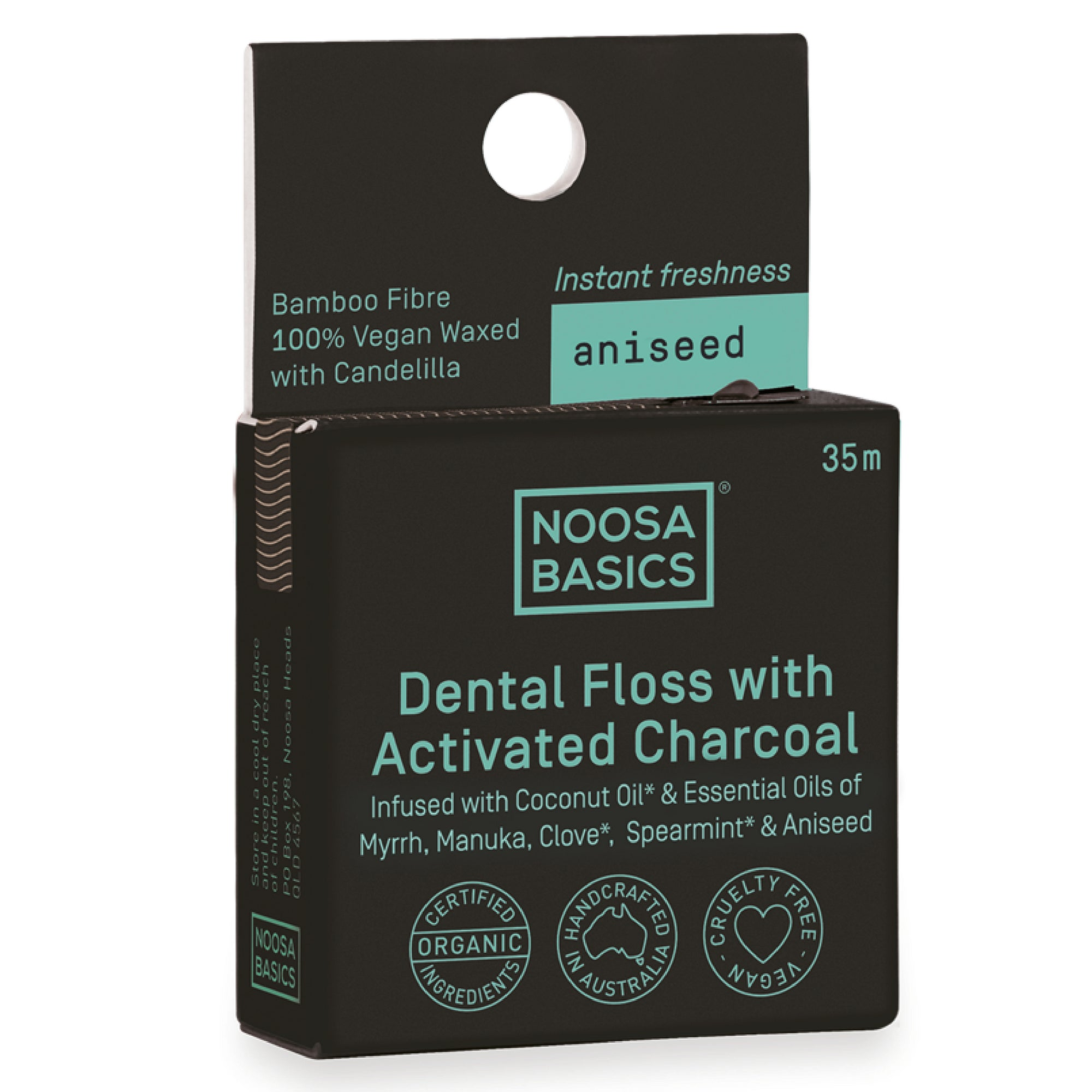 Aniseed Dental Floss With Bamboo Charcoal