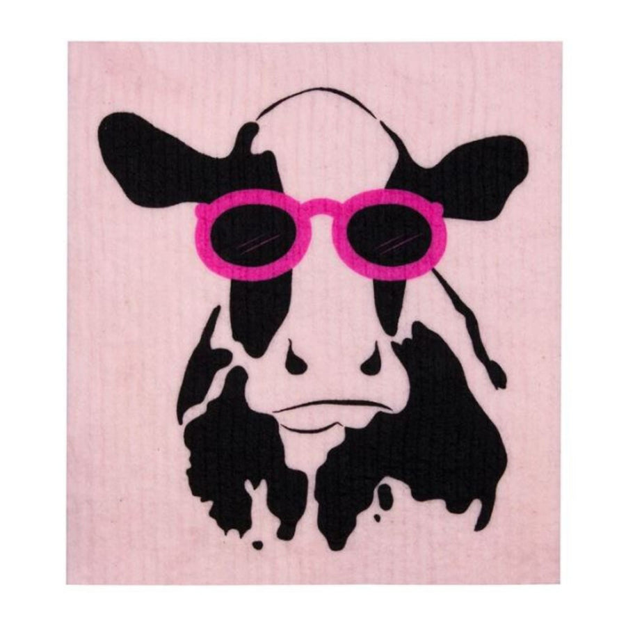 RetroKitchen - Cellulose Dishcloth (Cow)