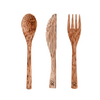 Coconut Bowls – Wooden Coconut Cutlery Set
