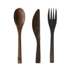 Coconut Bowls – Wooden Buddha Cutlery Set
