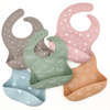 One Chew Three - Silicone Catch Bibs (5 colours)