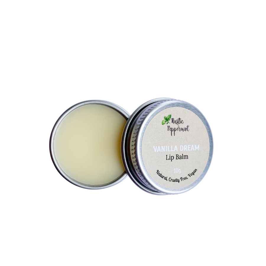 Rustic Peppermint - Vanilla Dream Natural Flavoured Lip Balm (10g)