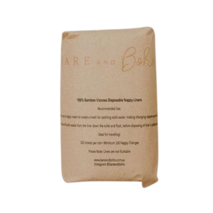 Bare and Boho - Nappy Liners (Reusable & Disposable)