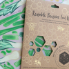 Bee Green Wraps - MEDIUM Food Wraps (7 Designs)