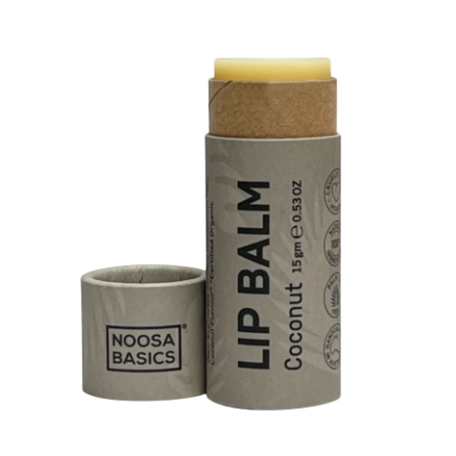 Noosa Basics - Coconut Vegan Lip Balm (6g)