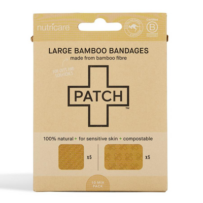 Go-For-Zero-Australia-Patch-Adhesive-Strips-Australia-Large-Bamboo-Bandages-Natural