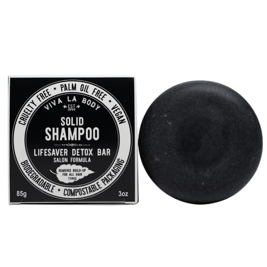 Viva La Body - Lifesaver Detox Shampoo Bar (85g)