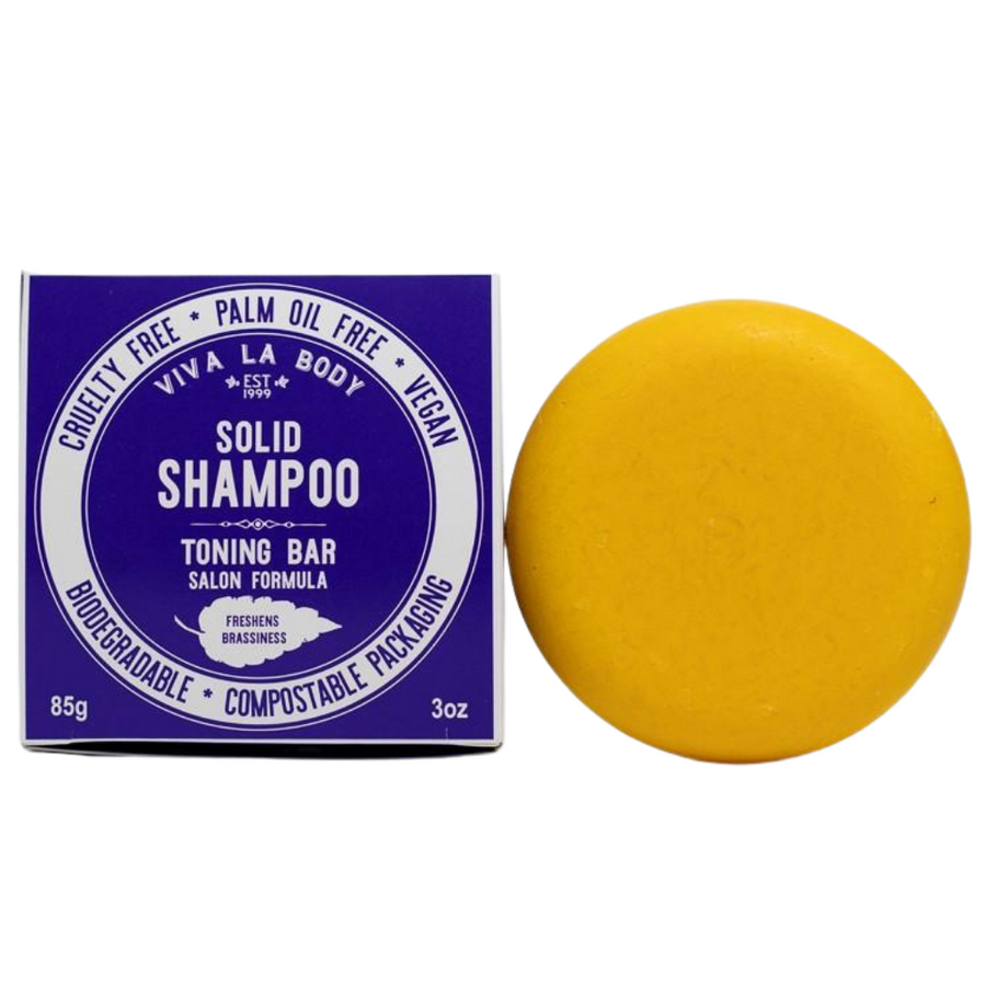 Viva La Body – Toning Shampoo Bar (85g)