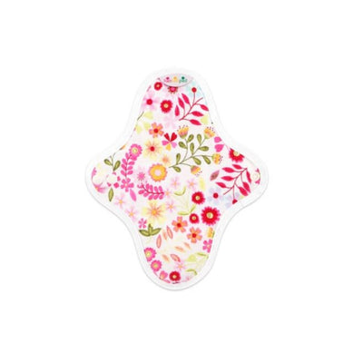 Go-For-Zero-Australia-Hannahpad-Small-Reusable-Pad-Flower-Garden-Pink