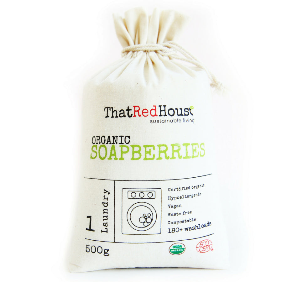 That Red House - Organic Soapberries - Washberries (250g, 500g or 1kg)