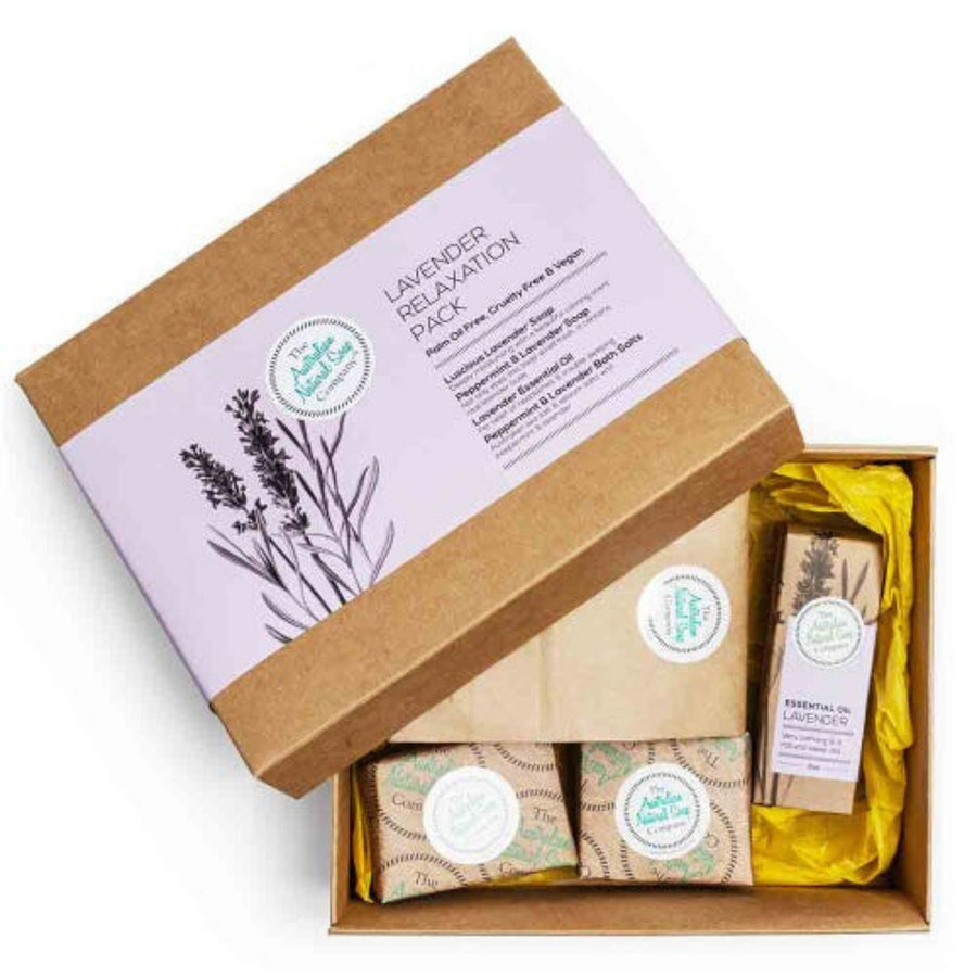 The Australian Natural Soap Company - Lavender Relaxation Pack