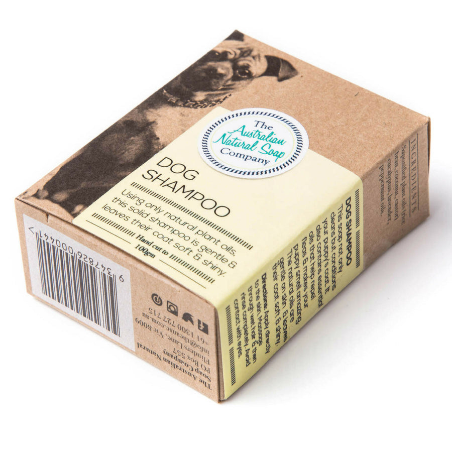 The Australian Natural Soap Company - Solid Dog Shampoo Bar (100 g)