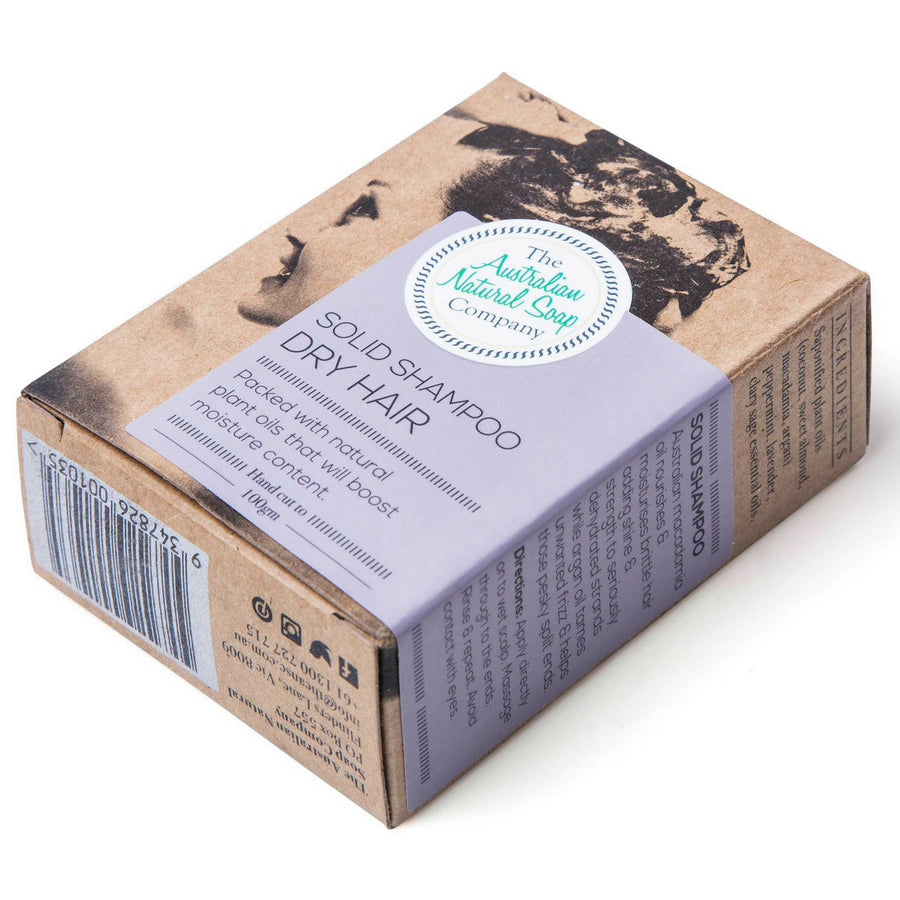 The Australian Soap Company - DRY HAIR Shampoo Bar (100 g)