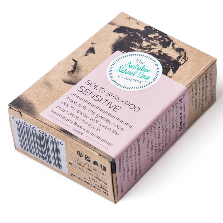 The Australian Soap Company - SENSITIVE SCALP Shampoo Bar (100 g)