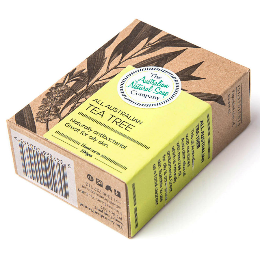 The Australian Soap Company - Australian Tea Tree Soap Bar (100 g)