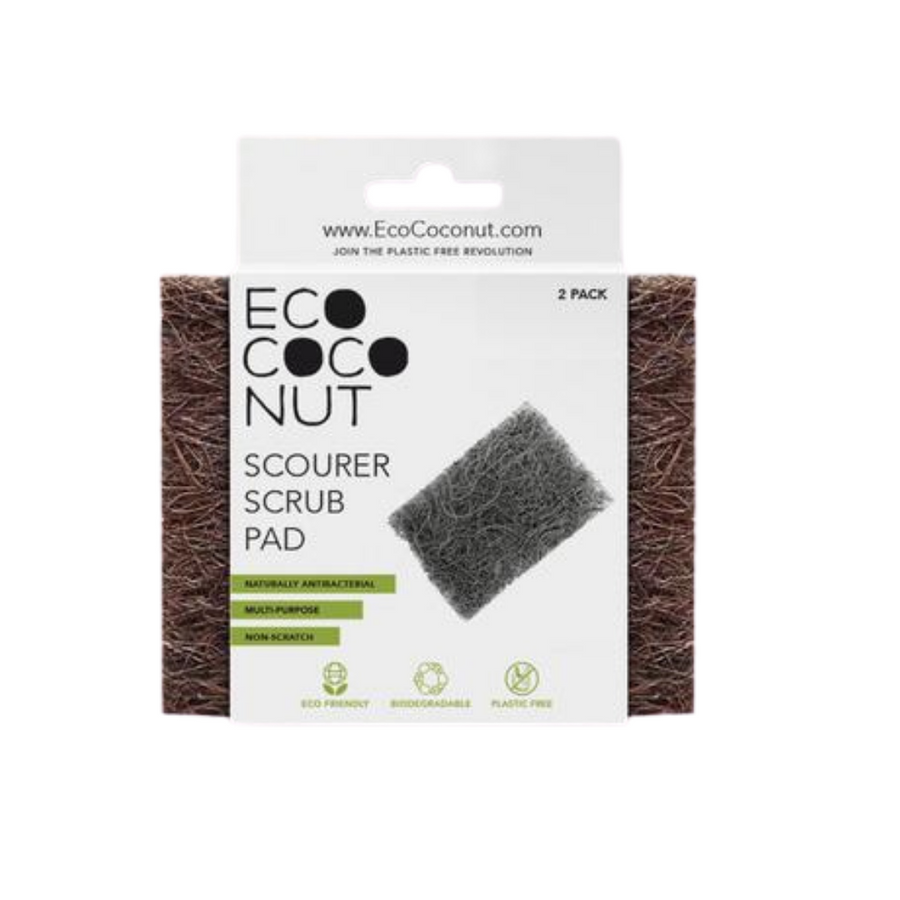 EcoCoconut - Scourer Scrub Pad (2 Pack)