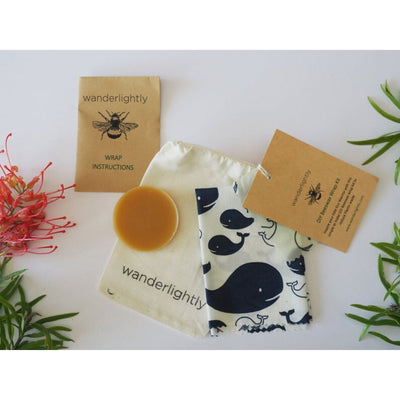 Go-For-Zero-Australia-Wanderlightly-DIY-Beeswax-Wrap-Kits-Childrens-Party-Favour-Whale