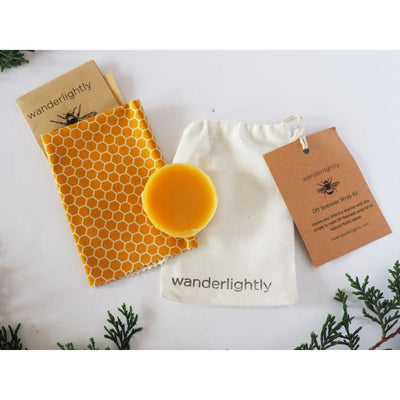 Go-For-Zero-Australia-Wanderlightly-DIY-HoneyBeeswax-Wrap-Kits-Childrens-Party-Favour-