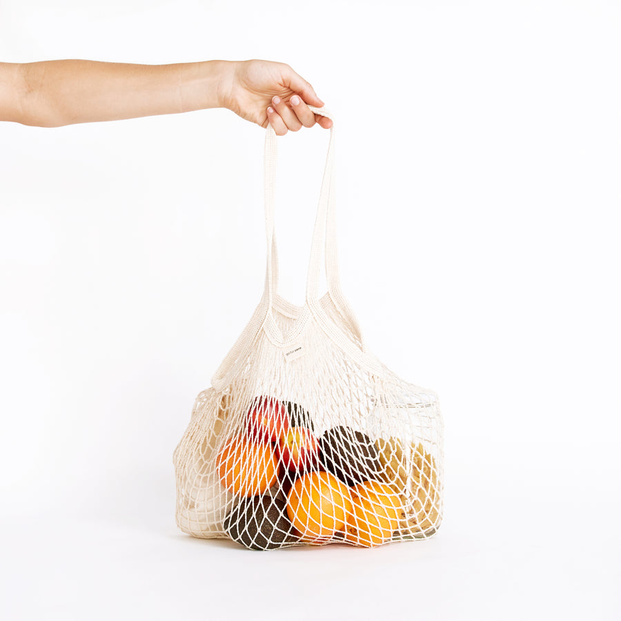 Go for Zero - Organic Net Tote Bag (Long Handle)