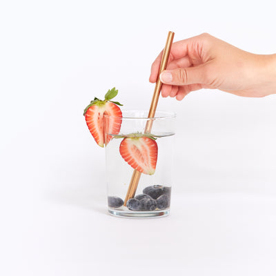 Go-For-Zero-Australia-Rose-Gold-Straws-2-Pack-Straight-2