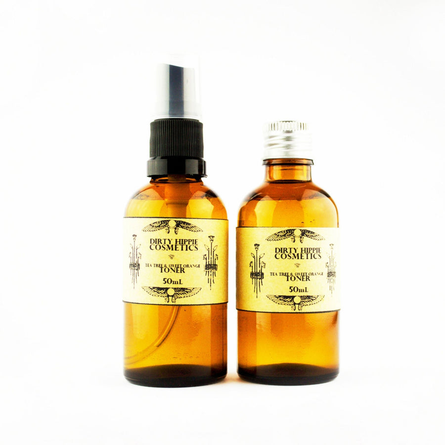 Dirty Hippie - Facial Toner Mist - Tea Tree (Spray & Refill)