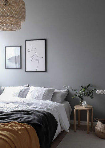 Coco Lapine Grey Bedroom