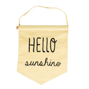 Hello Sunshine Flag