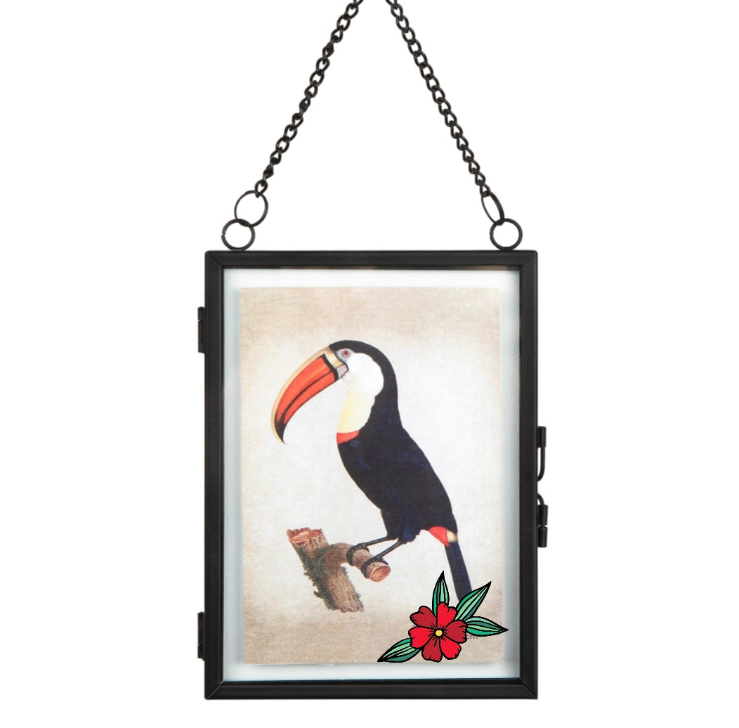 Black Hanging Photo Frame