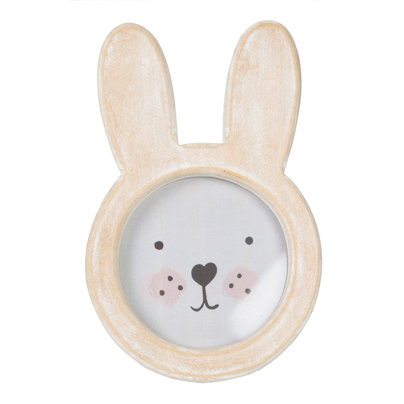 Bunny Face Rustic Wood Photo Frame – Rees & Hunt