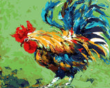 Colourful Hen
