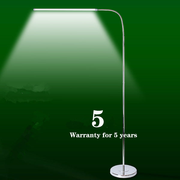 Simple modern LED floor lamp