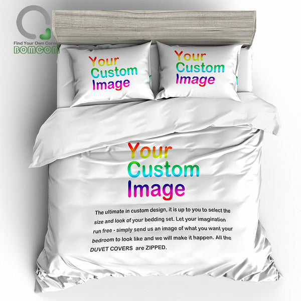 Personalised Bedding Set. Submit Any Artwork, Design, Picture