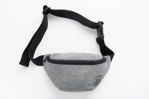 California Fanny Pack - Silver