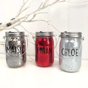 Personalised Light Up Jar