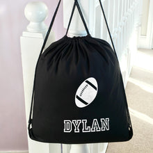 Personalised School PE Bag Rugby