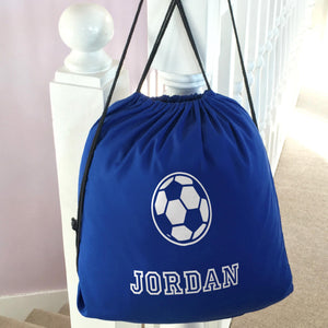 Personalised School PE Bag Football
