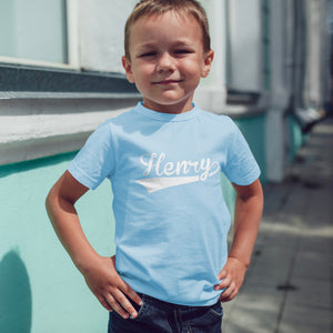 boys personalised t-shirt