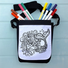 Skull Colour In Bag For iPad With Across the Body Strap