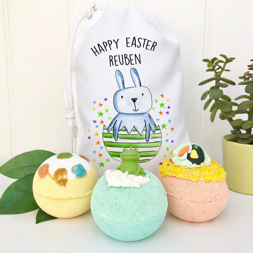 Easter Children's Bath Bomb Set
