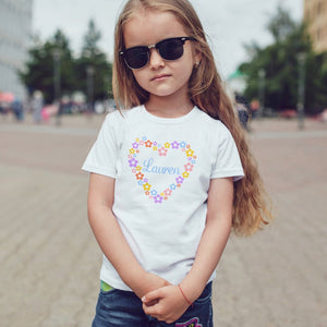 Personalised Heart T-Shirt